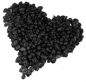 ItalWax Черный (мужской) гранулированный горячий воск 200 гр