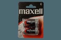 Батарейка MAXELL R-14 2PK BLISTER