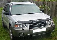 Дефлектор капота (мухобойка) Subaru forester I (субару форестер 1 1997г-2000г)