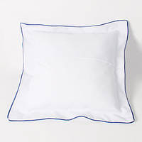 Подушка сублимационная квадратная атласная с цветной каймой