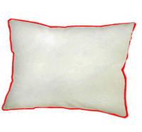 Подушка сублимационная прямоугольная атласная с цветным кантом