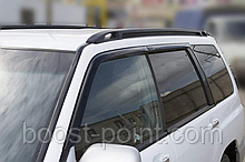 Дефлектори вікон (вітровики) Subaru forester I (субару форестер 1 1997-2002р)
