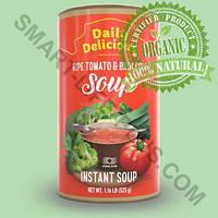 Дейли Делишес суп из спелых томатов и брокколи - полезный и вкусный крем суп Daily Delicious