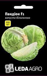 """Семена капусты Пандион F1, 100 сем., белокочанной ранней, ТМ """"ЛедаАгро"""""""