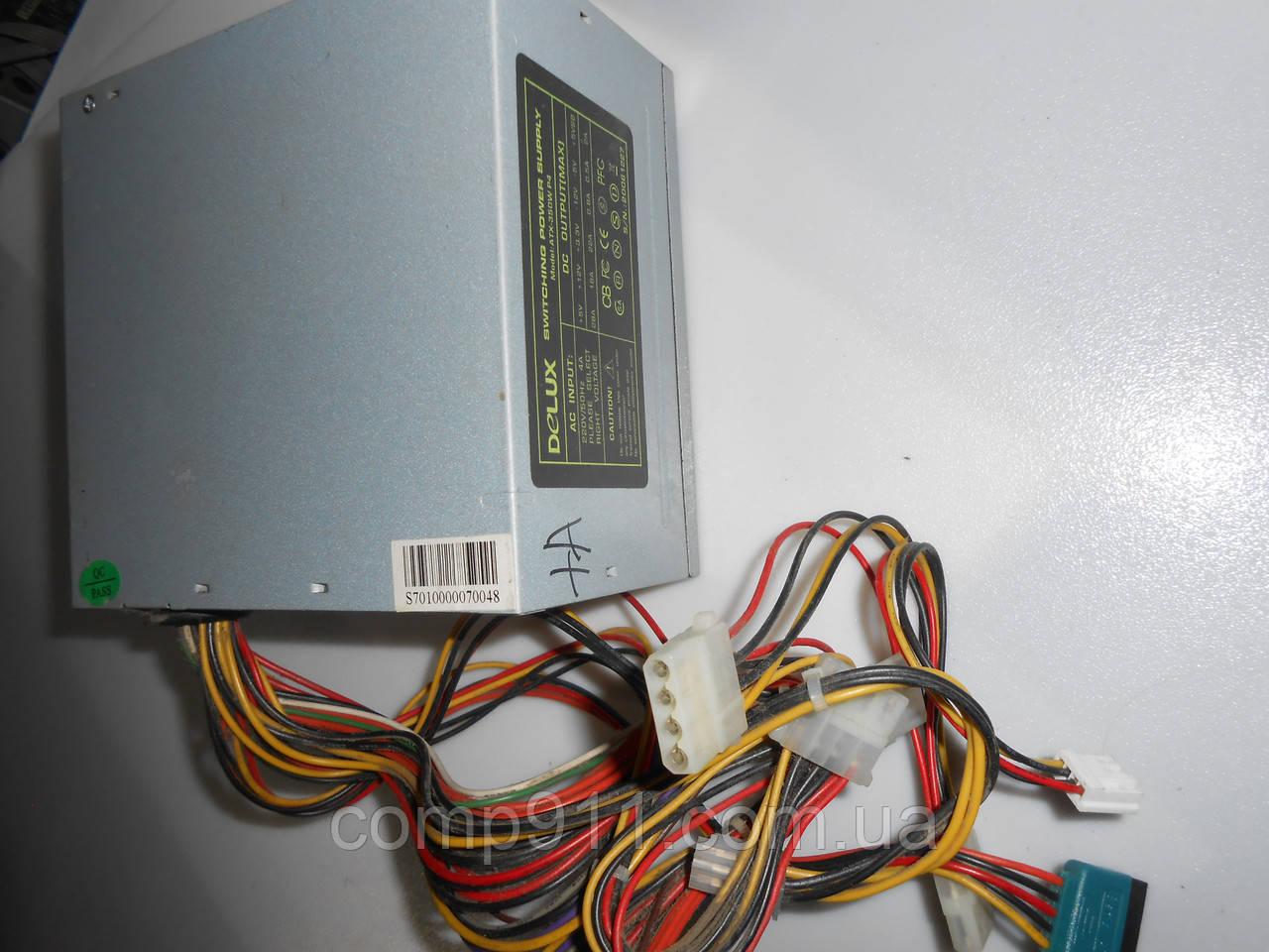 Блок питания Delux  Atx-350w P4 350w