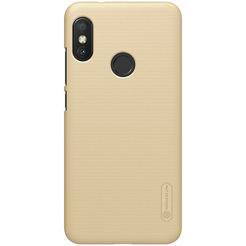 Чехол-бампер Nillkin Super Frosted Shield Gold для Xiaomi Mi A2 Lite / Redmi 6 Pro