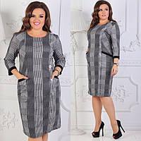 Женское нарядное платье увеличенных размеров 54-60
