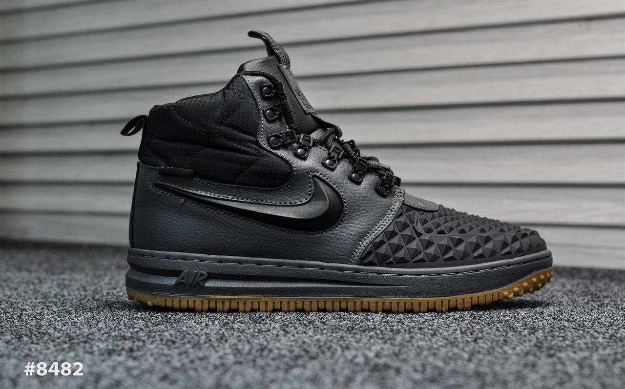 Nike Lunar Force Black Gray (Реплика)