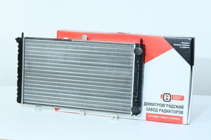 Радиатор вод. охлажд. ВАЗ 2170 ПРИОРА (пр-во ДААЗ), 21700-130101200