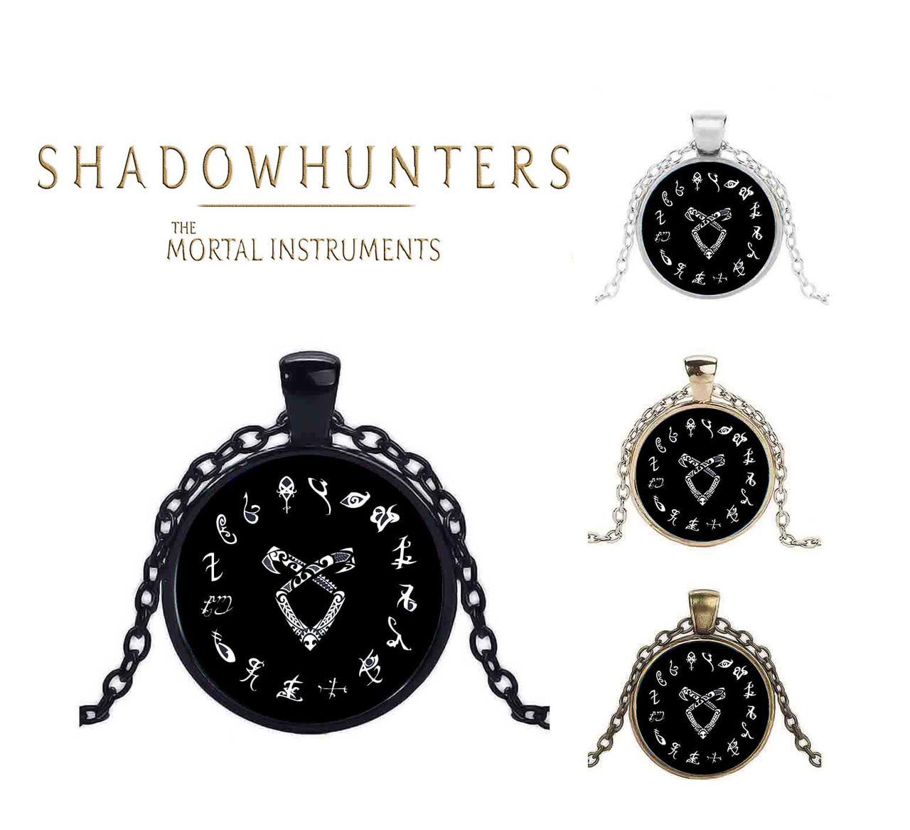 Кулон Сумеречные охотники Ангельская руна Shadowhunters