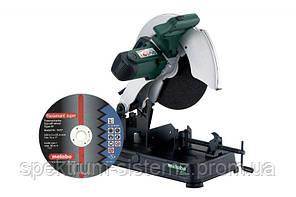 Монтажная пила Metabo CS 23-355 + отрезной диск