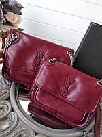 Жіноча сумка SAINT LAURENT Niki Chain' 24 см (репліка), фото 1
