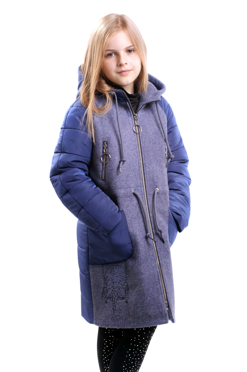 Детское пальто для девочки Риги