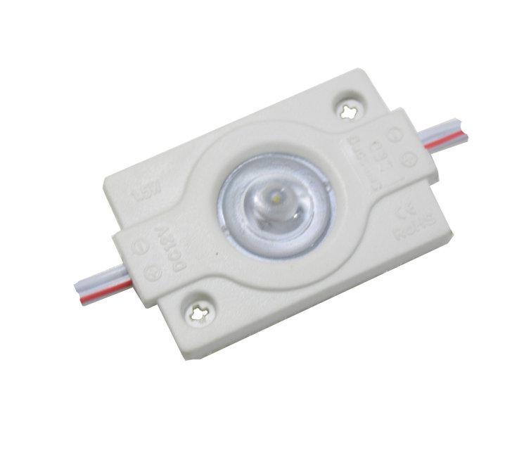 Светодиодный модуль с линзой AVT 1,5W SMD3030 холодный белый