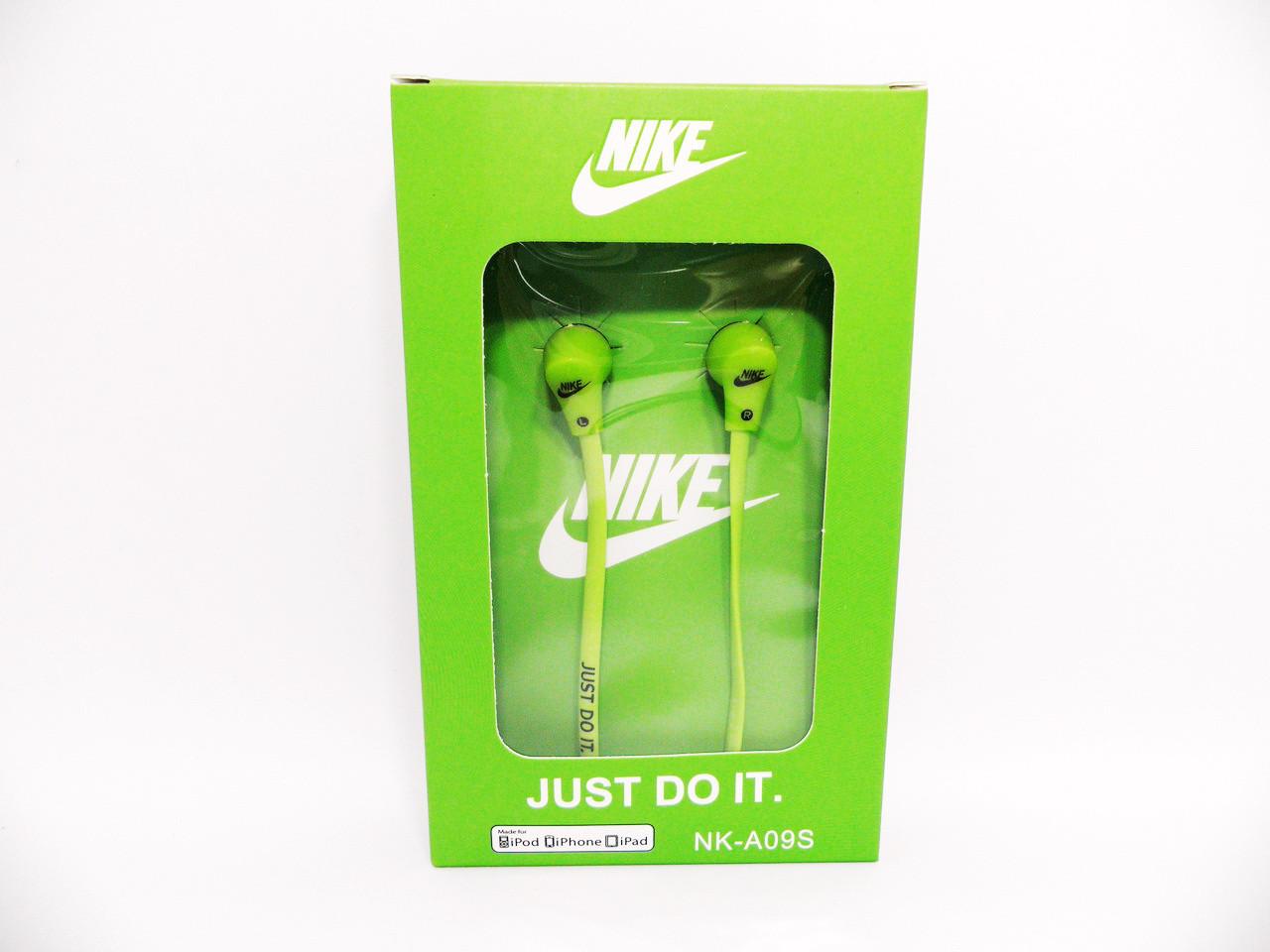 Наушники Nike NK-A09S Green