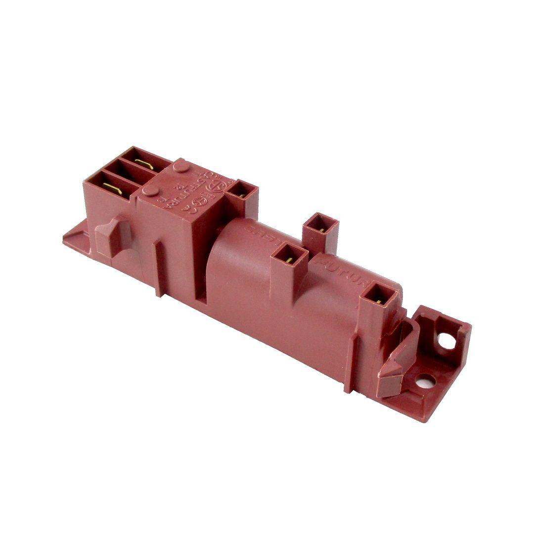 Блок электроподжига на 4 выхода для кухонных плит