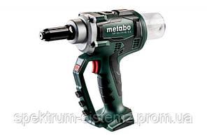 Аккумуляторный заклепочный пистолет Metabo NP 18 LTX BL 5.0 Каркас MetaLoc