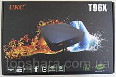 Медіаплеєр Smart UKS T96X SMART TV Android 1GB/8GB