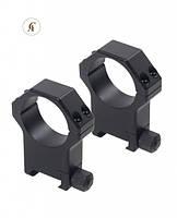 SPP02/C Кольца высокие Contessa Picatinny Rings 30 mm, h 19 mm