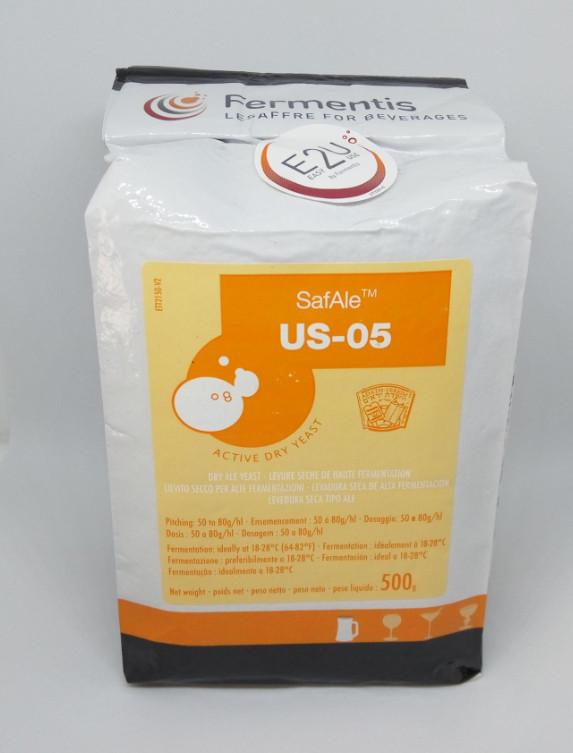 Пивные дрожжи Fermentis US-05 - 500g.
