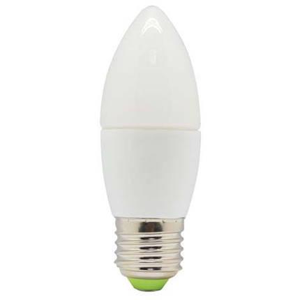 Светодиодная лампа Feron LB-97 C37 E27  5W 4000K 230V Код.58124, фото 2
