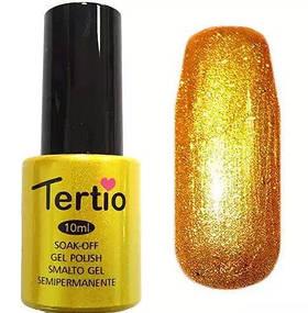 Гель-лак Tertio №21 золотий 10 мл
