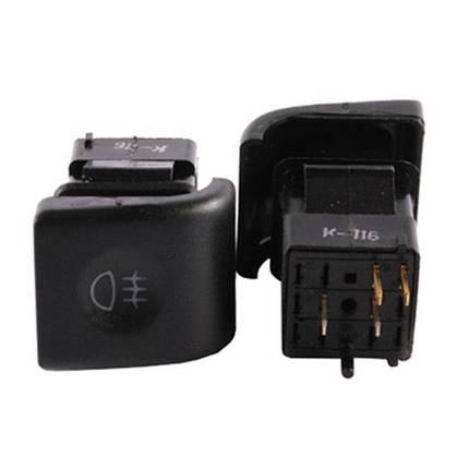 Выключатель задних противотуманных фонарей ВАЗ-2110 АВАР с/о, фото 2