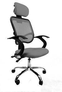 Кресло компьютерное офисное Ergo grey