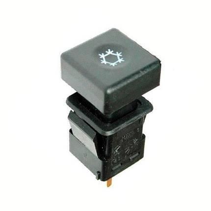 Выключатель кондиционера ВАЗ-2110 АВАР с/о, фото 2