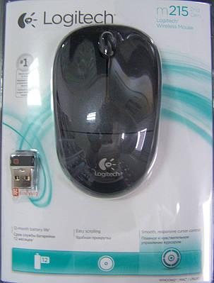 Мышь Logitech Wireless M215 Black