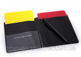 Карточки судейские блокнот с ручкой (комплект)
