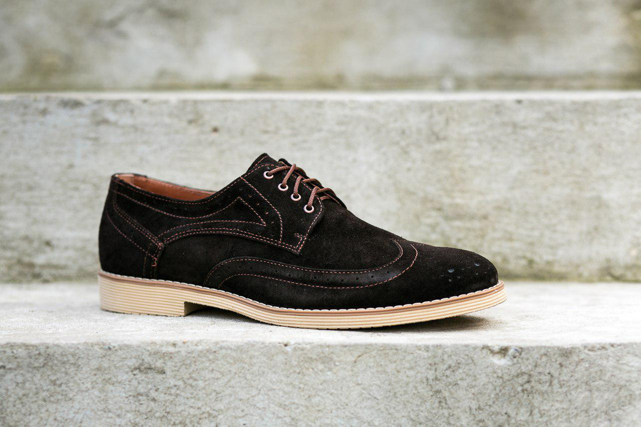Чоловічі туфлі броги Oskar