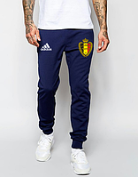 Мужские футбольные штаны Сборной Бельгии, Belgium, синие