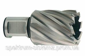 Корончатое сверло Metabo HSS Ø 13х30 мм, Weldon 19