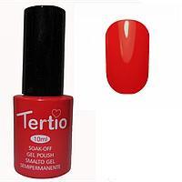 Гель-лак Tertio №10 морковно-красный 10 мл