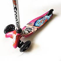 Трехколесный самокат детский 21Scooter - Mini Print - Girl, фото 3