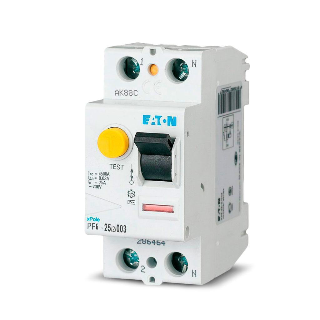 Дифференциальный автомат EATON PFL6-10/1N/C/003