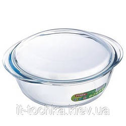 Кастрюля с крышкой pyrex круглая 1.3 литра (207a000)