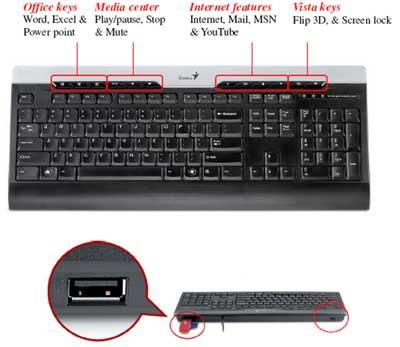 Клавиатура Genius SlimStar 220 Pro USB