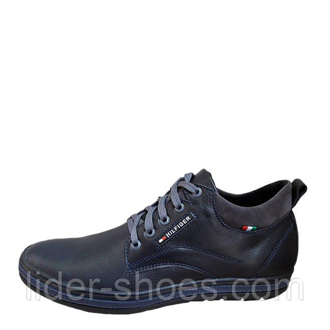 Мужские осенние ботинки в стиле Hilfiger