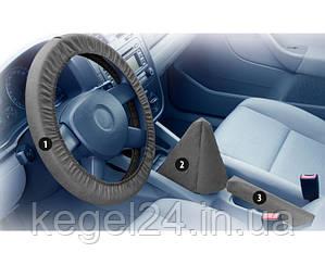 Комплект защитных чехлов на руль, ручку переключения КПП и ручку стояночного тормоза Fachkraft ОРИГИНАЛ!