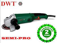 Болгарка DWT WS08-125 T, 860 Вт, шлифмашина профессиональная