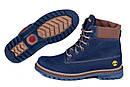 Мужские зимние кожаные ботинки Timberland Crazy Shoes Laguna, фото 5