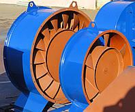 Осьовий вентилятор У 2,3-130 № 10 с дв. 5,5 кВт, 750 об/хв
