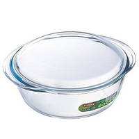 Кастрюля pyrex essentials круглая 2.3 литра (208a000) с крышкой