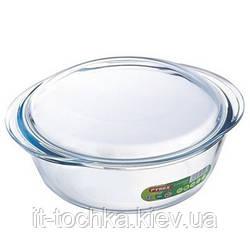 Кастрюля pyrex essentials круглая 2.3 литра (208a000) с крышкой