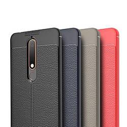 Резиновый бампер Nokia 6 (2018) под кожу Autofocus (Нокиа 6 18)