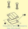 Зажим крестовидный с 2-мя отверстиями, фото 3
