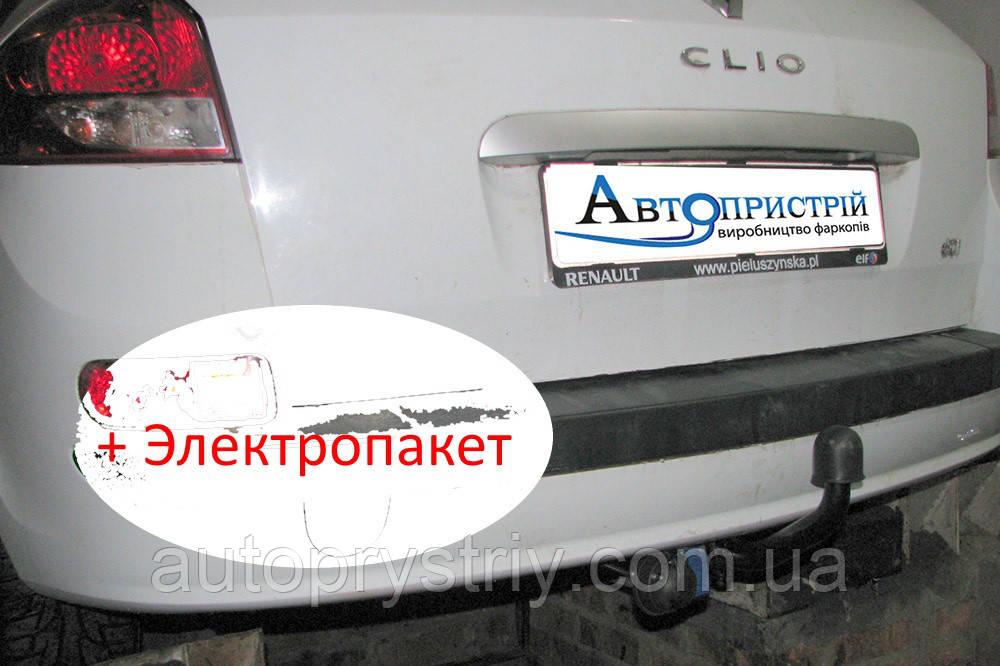 Фаркоп - Renault Clio 3 Універсал (2008-2013)