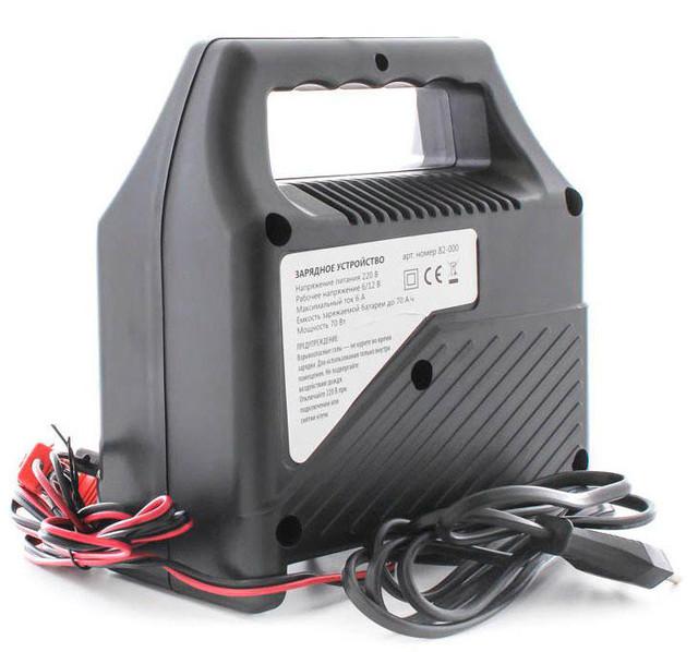 Автомобильное зарядное устройство для АКБ 6/12В 60Ач MIOL 82-000
